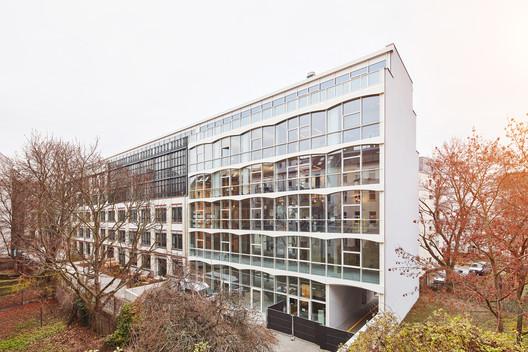 Gertrudshof Nike Central Europe HQ / Studio Julian Breinersdorfer + RIMPAU BAUER DERVEAUX Architekten