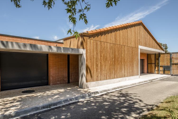 School Nicolas Poussin à Aucamville Extension / Tocrault & Dupuy Architectes, © Sylvain Mille