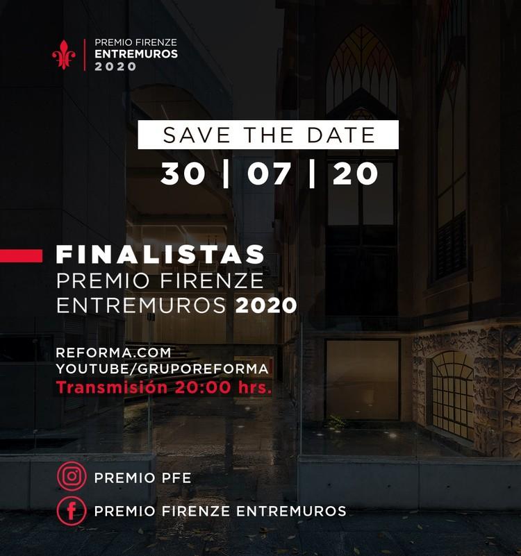Finalistas Premio Firenze Entremuros 2020