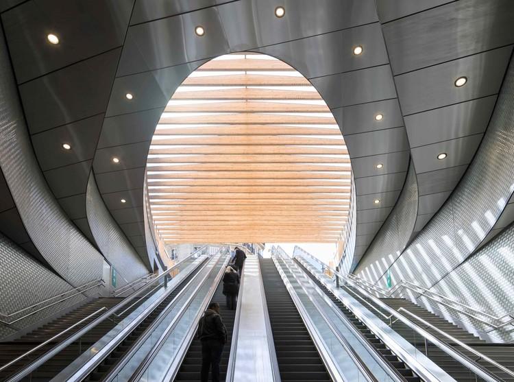 Conectividad bajo tierra: las estructuras de transporte público más recientes de Europa, © Pierre L'Excellent