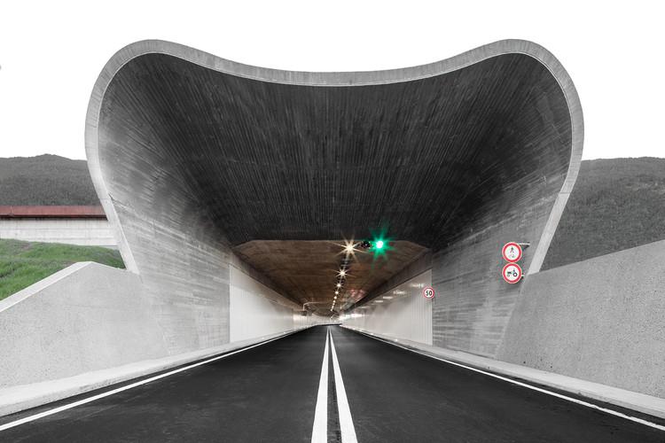 Junção central do anel viário de Bressanone-Varna / MoDusArchitects, Cortesia de MoDusArchitects
