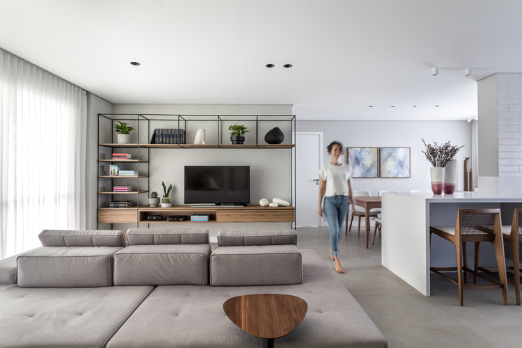 Apartamento LN / Studio Boscardin.Corsi Arquitetura, © Eduardo Macarios