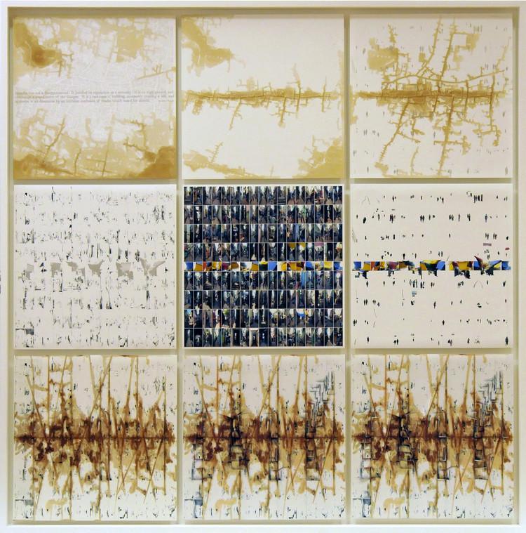 """Paisagens críticas e educadoras: a obra de Mathur & Da Cunha, Estudo para """"Ocean of Rain"""". Imagem © Mathur & Da Cunha"""