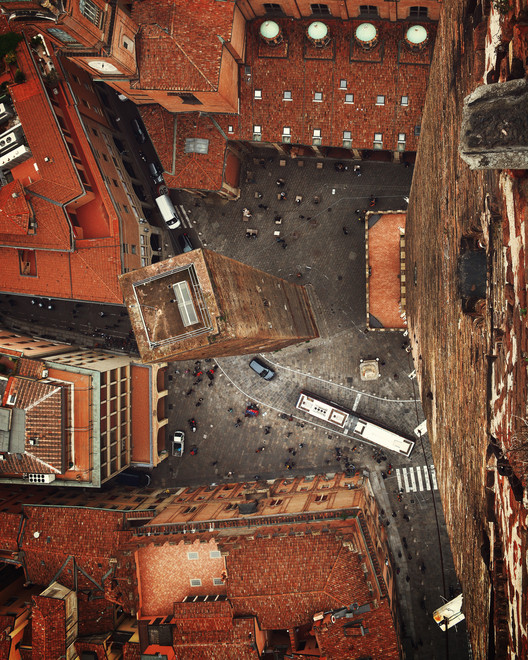 Bologna, Italy. Image created by @dailyoverview, source imagery: @bogdandada