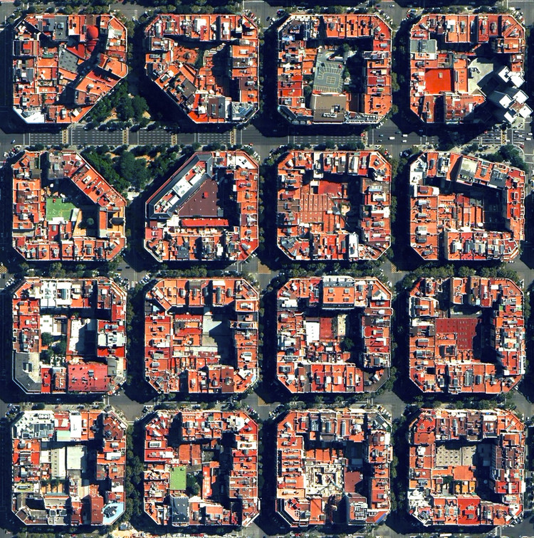 Barcelona, Spain. © Daily Overview