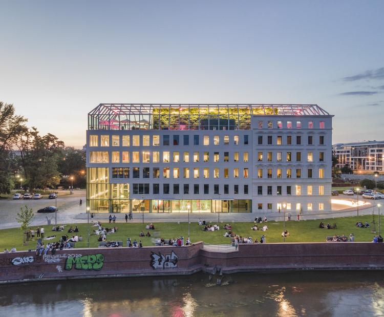 Edificio Concordia Design Wrocław / MVRDV, © Juliusz Sokołowski