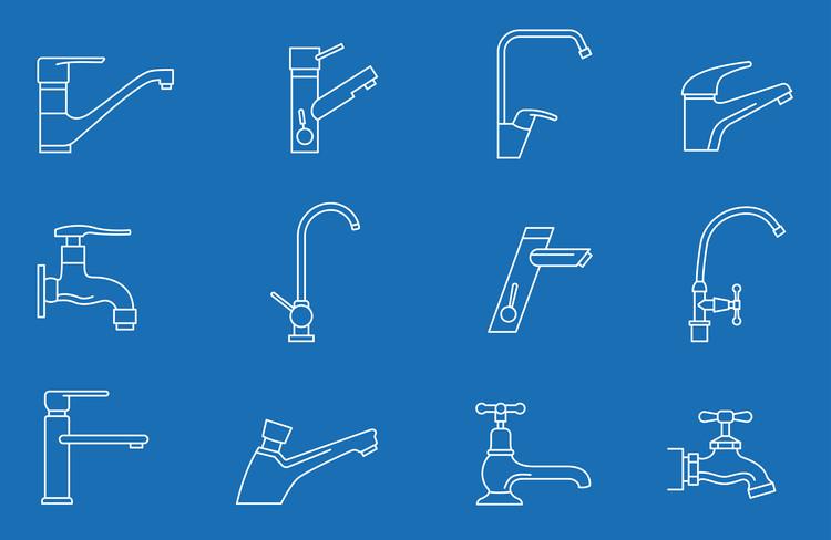 Guia básico: Como escolher uma torneira de cozinha ou banheiro?, © VikiVector (Shutterstock)