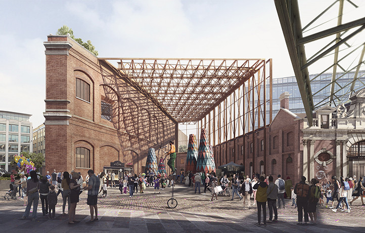 Museum of London's New Home Receives Planning Approval, © Secchi Smith