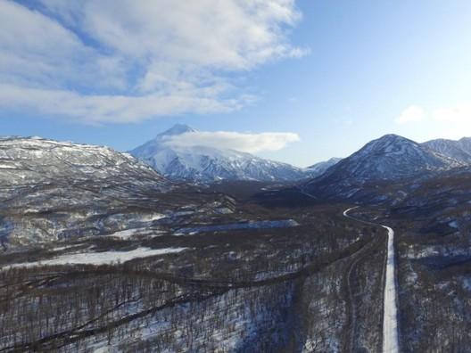 HKS Designs Mountain Resort for Three Volcano Park in Russia