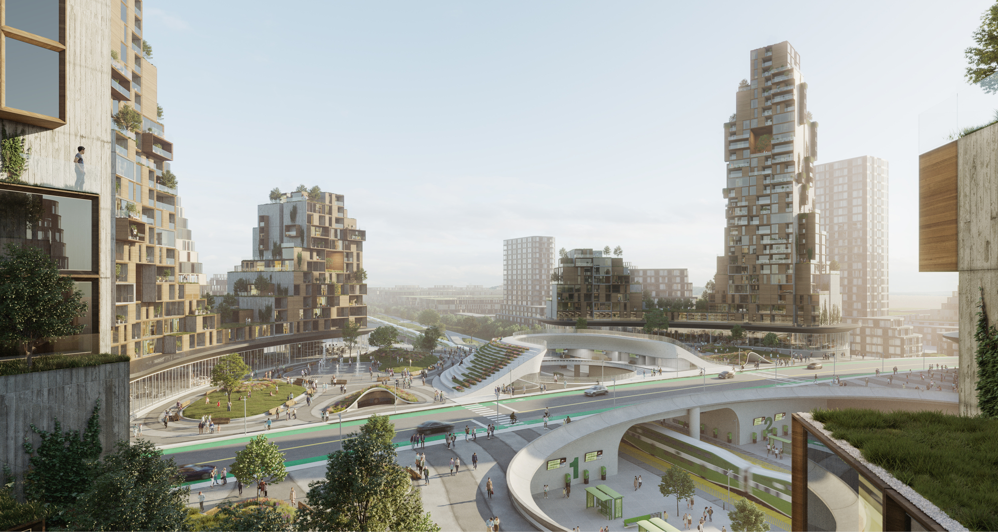Canada's City of the Future Moves Forward with Central Train Station Approved