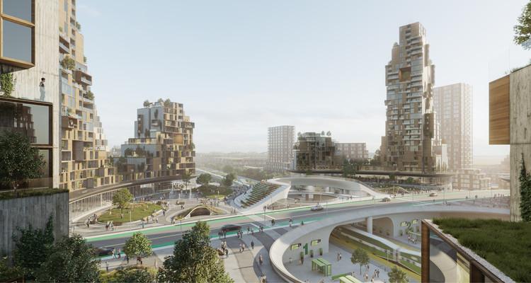 Cidade do futuro no Canadá está mais perto de se tornar realidade, Cortesia de PARTISANS