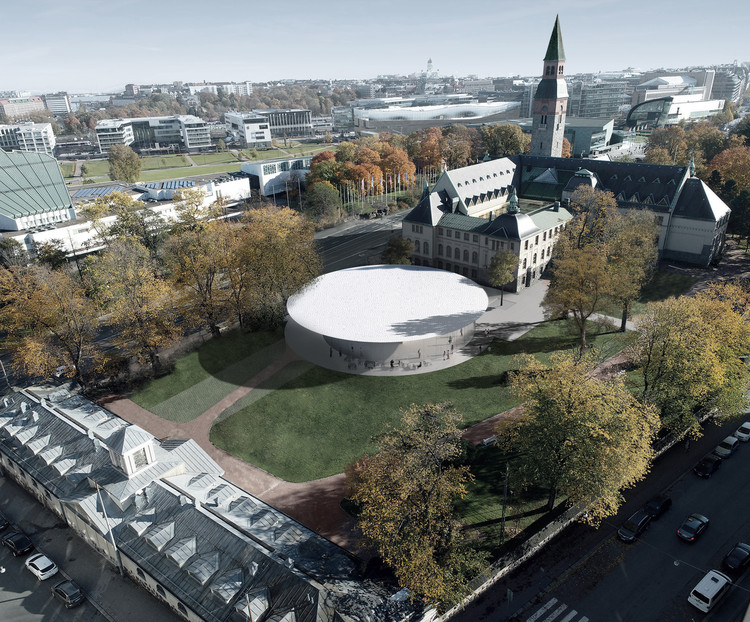 JKMM Submits Winning Entry of the National Museum of Finland for Planning Approval, © JKMM Architects