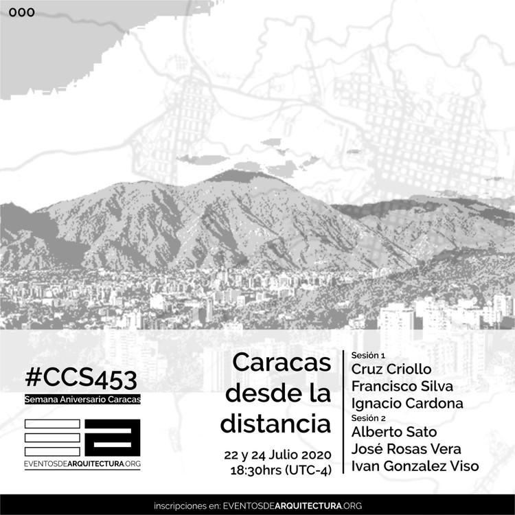 Ciclo de conversaciones: Caracas desde la Distancia, Ciclo de conversaciones: Caracas a la Distancia. ilustración ©Billy Joe Bermudez