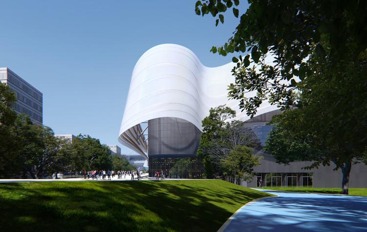 MAD Architects diseña el Centro Acuático para los Juegos Olímpicos de París 2024, © MIR