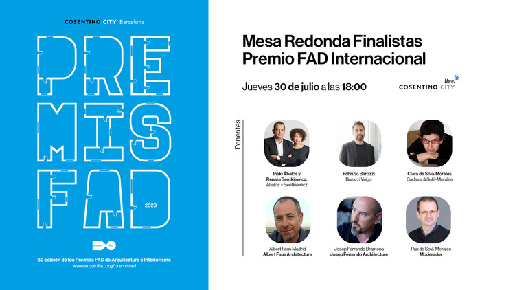 Mesa Redonda Finalistas Premio FAD Internacional 2020