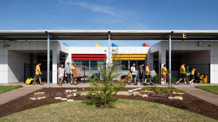 Cairnsfoot Special Needs School / The Landscape Studio of NBRSARCHITECTURE, © Alexander Mayes Photography