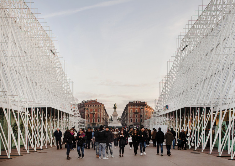 Expo Gate. Image © Filippo Romano