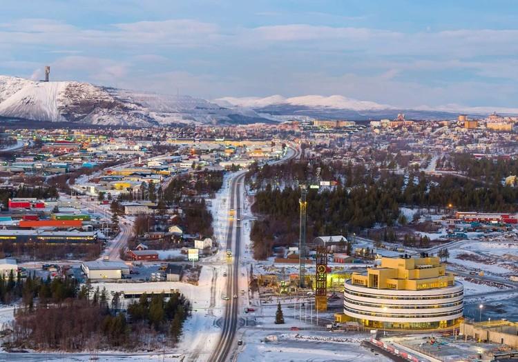 Kiruna Town Hall. Image © Hufton + Crow