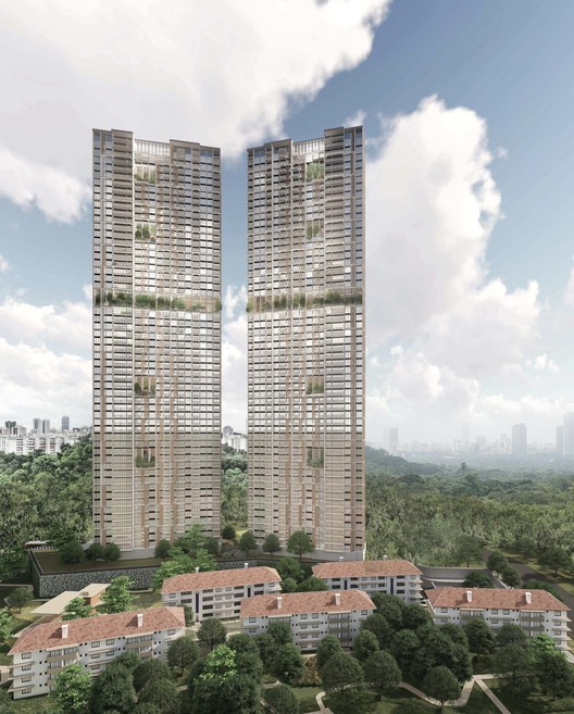 The World's Tallest Prefabricated and Prefinished Construction to Be Built in Singapore, Courtesy of ADDP Architects