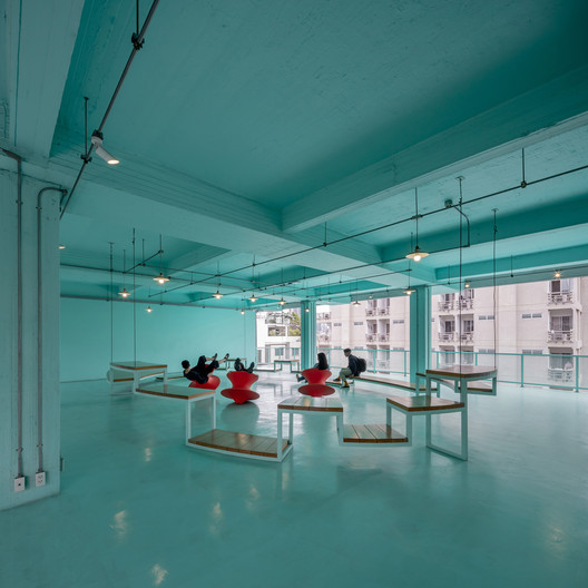 Bangkok University Interior Renovation / Imaginary Objects + HYPOTHESIS