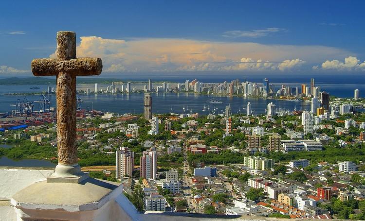 Arquitectura para replantear la independencia de Colombia, Vista sobre Cartagena. Image © Norma Goméz [Flickr] Bajo licencia [CC BY-SA 2.0]