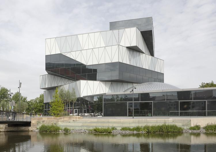 Experimenta Building in Heilbronn / Sauerbruch Hutton , © Jan Bitter