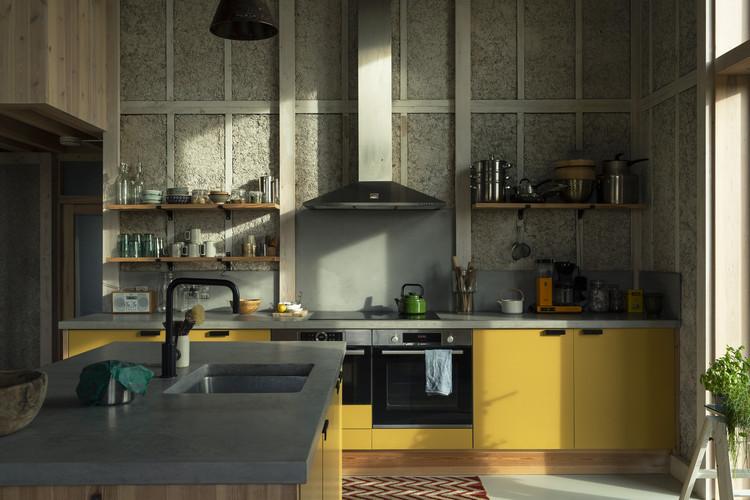 """Buto namo / praktikos architektūra + materialiosios kultūros.  Vaizdas © """"Oskar Proctor"""""""