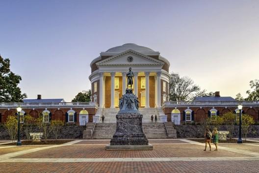 University of Virginia Rotunda. Image © Anna Wesolowska