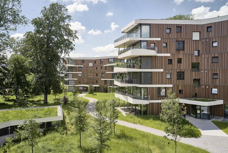 Viviendo en el Spinnereipark / Behnisch Architekten, © David Matthiessen