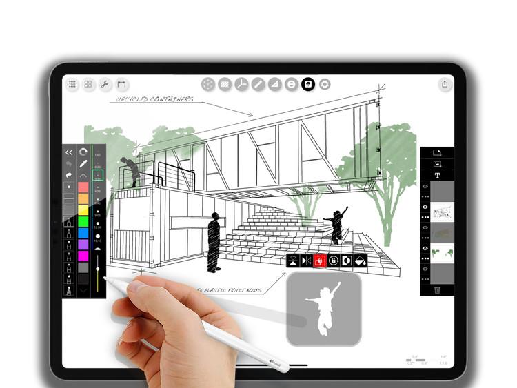 De Top 10 Apps voor Architectuur, Esteban Suarez, Bunker Arquitectura. Mexico Stad, Mexico. Beeld © BNKR. Beeld via Morpholio