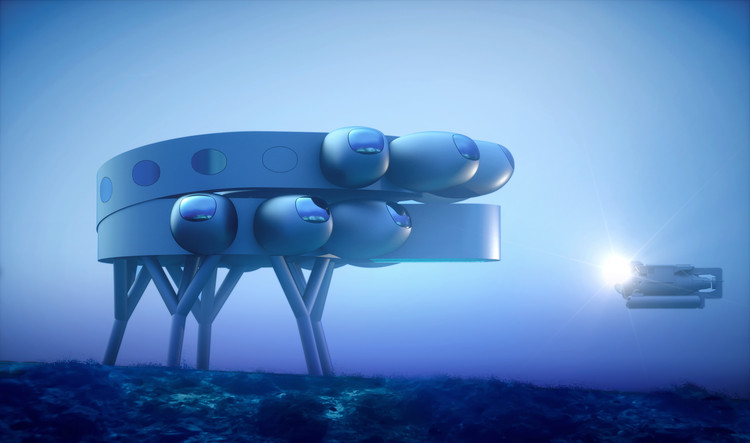 Fabien Cousteau and Yves Béhar Create Proteus, the World's Largest and Most Advanced Underwater Station, Courtesy of PROTEUS