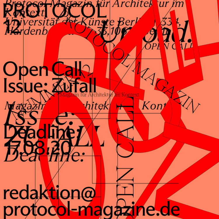 Open Call: Protocol 12 — Chance