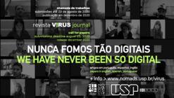 REVISTA V!RUS 21 | NUNCA FOMOS TÃO DIGITAIS | CHAMADA DE TRABALHOS