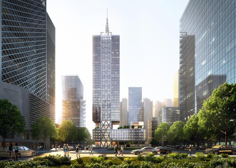 SOM diseña una nueva tipología de oficinas para la nueva sede de Shenzhen Hytera, Cortesía de SOM