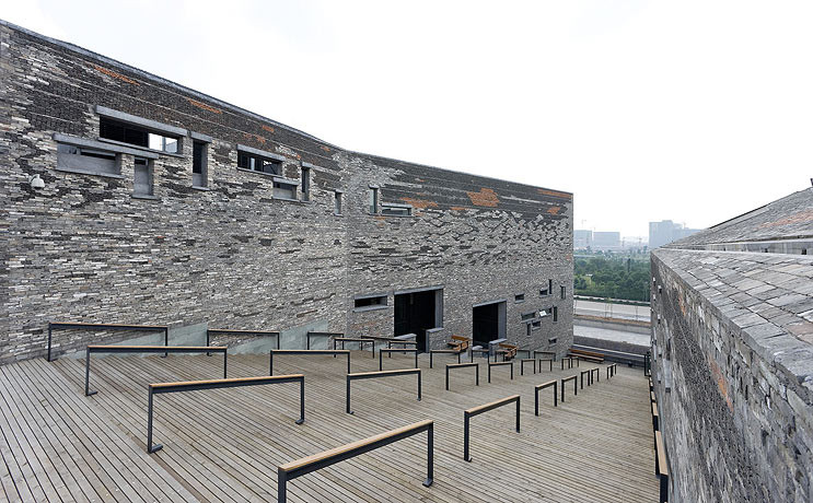 Museu Histórico de Ningbo / Wang Shu, Amateur Architecture Studio. Imagem: © Iwan Baan