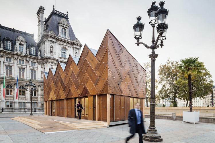 Pavilhão Circular / Encore Heureux Architects. © Cyrus Cornut