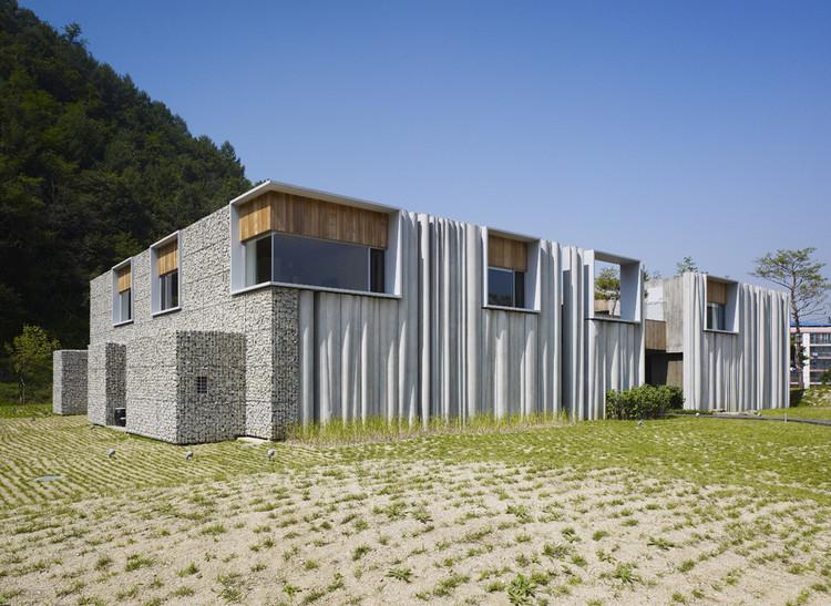 Hanil Visitors Center & Guest House / BCHO Architects. Imagem: © Yong Gwan Kim