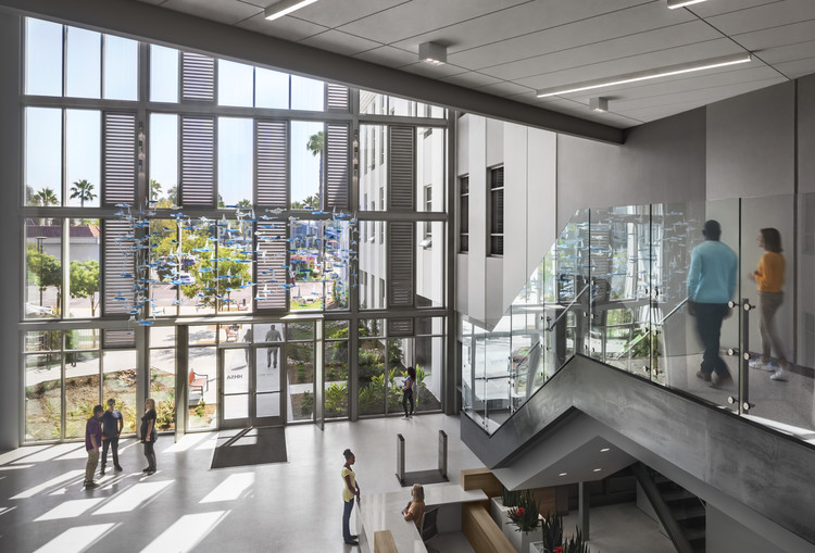 """""""Architects Never Waste a Good Crisis"""": HMC's New Chief Impact Officer on Reframing Design, County of San Diego North Coastal Live Well Health Center Building. Image © Lawrence Anderson, courtesy HMC"""