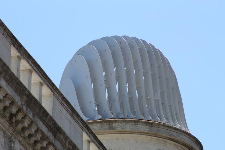 Técnicas contemporáneas para revalorizar el pasado: Una nueva cúpula para Montevideo, Cortesía de Federico Lagomarsino