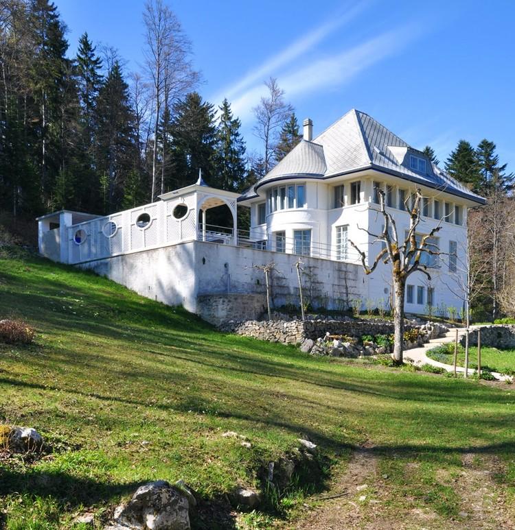 Villa Jeanneret-Perret, Le Corbusier ensayando la vivienda moderna, © Helena Ariza
