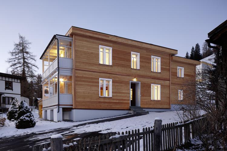 House in Clavadel / Krähenbühl Architekten Studio, © Ralph Feiner