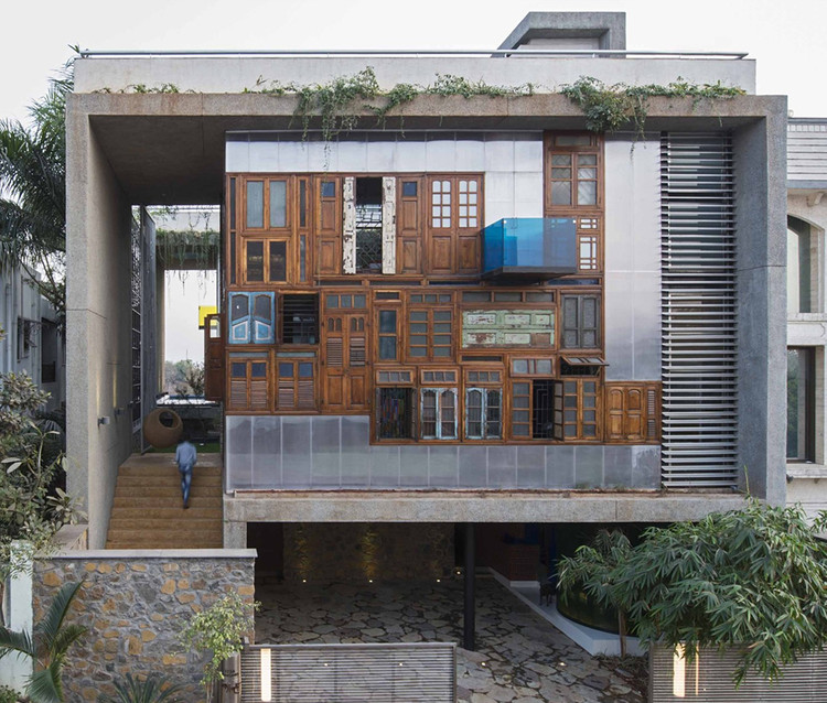 Collage House / S+PS Architects. Image © Cortesía de S+PS Architects