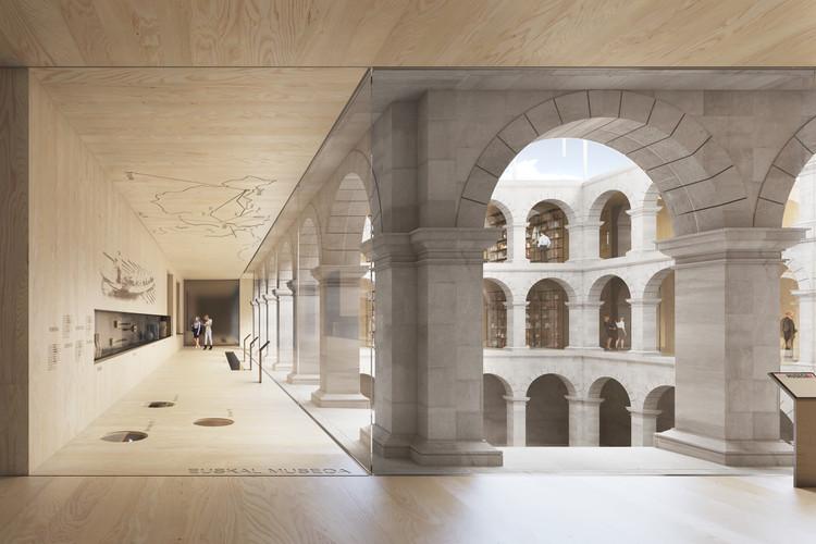 Proyecto de renovación del Museo Vasco de Bilbao: la madera como referencia material de la re-estructuración, Cortesía de Vaillo + Irigaray Architects