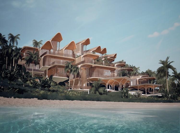Zaha Hadid Architects diseña proyecto residencial para la isla caribeña de Roatán, Honduras, © Zaha Hadid Architects