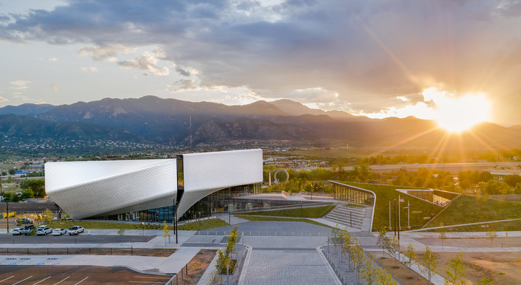 US Olympic and Paralympic Museum / Diller Scofidio + Renfro, © Jason O'Rear
