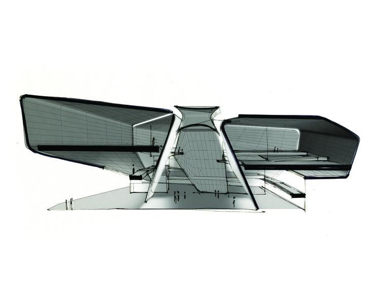 Atrium section diagram