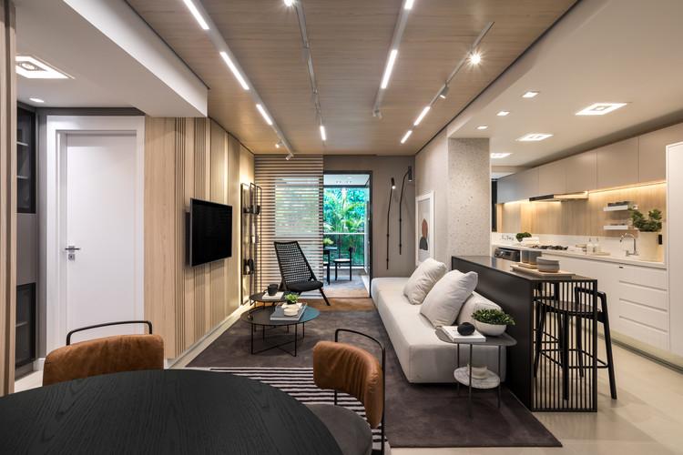 Apartamento Bless / Bohrer Arquitetura, © Eduardo Macarios