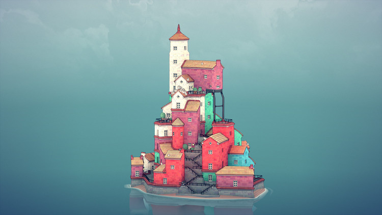 New Building Game Townscaper Allows Users to Build their Own City    ArchDaily