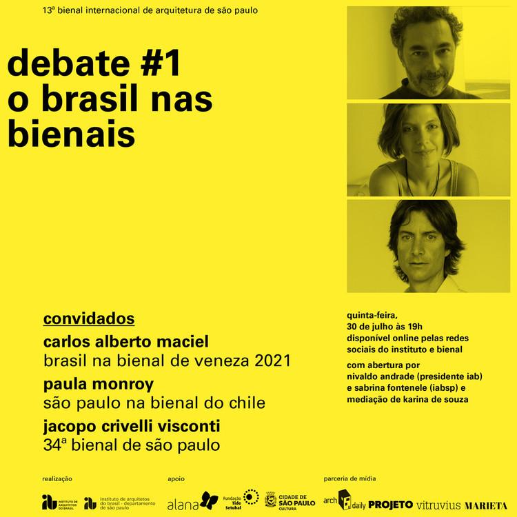 O Brasil nas Bienais: IABsp promove debate com Carlos Alberto Maciel, Paula Monroy e Jacopo Crivelli , Cortesia de IABsp