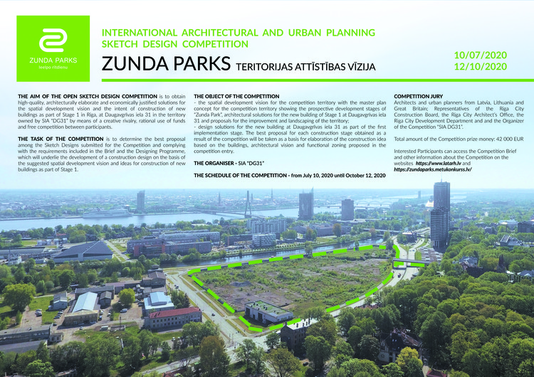Spatial Development Vision For Zunda Park in Riga, Latvia, SPATIAL DEVELOPMENT VISION FOR ZUNDA PARK IN RIGA, AT DAUGAVGRIVAS 31